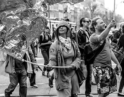 Street Photography from Amsterdam in B&W Square format