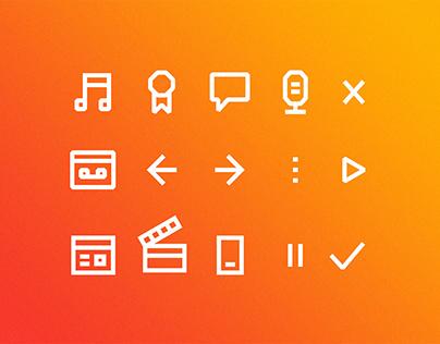 POP 101.5 Radio | Branding, Website & App Design