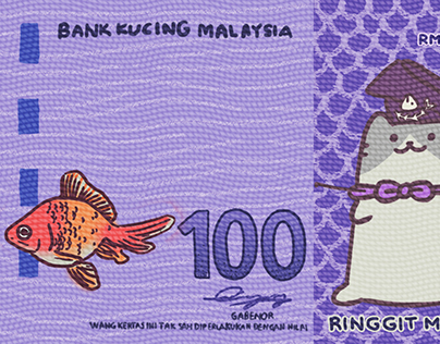 'Bank Kucing Negara' currency