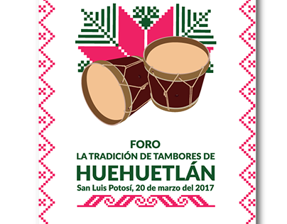 Foro Tradición de tambores Huehuetlán