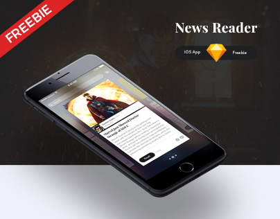 News Reader – iOS App Freebie