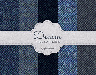 Free Seamless Denim Patterns (PAT & JPG)