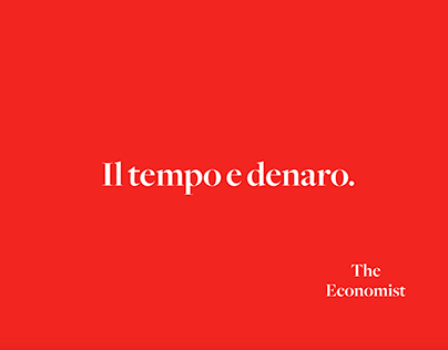 The Economist - Copy Ad (Lavoro accademico)