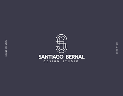 Santiago Bernal Design Studio - Rebrand