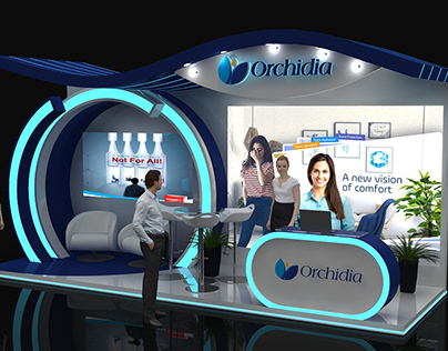 Orchidia And See The Impact booth And Event