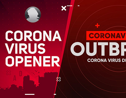 Coronavirus Opener - After Effects Template