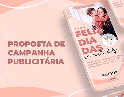 Campanha Publicitária - Pandora Jóias