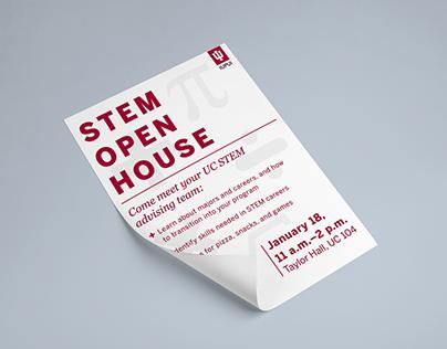 STEM Open House Flyer