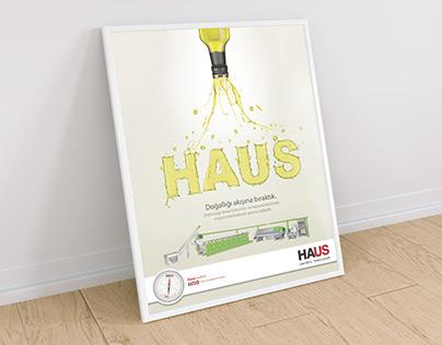 HAUS Olive Oil Magazine Print Ads