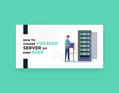 VOS3000 Server Banner Design