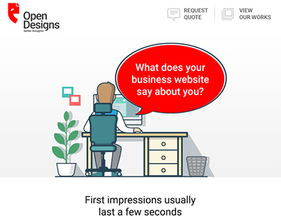 What does your business website say about you?