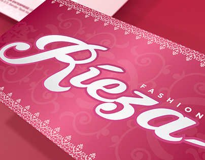 Rieza Fashion Business Card