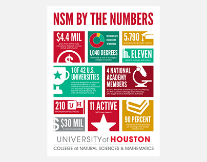NSM By The Numbers Poster