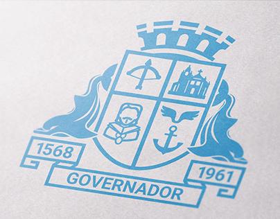 Redesenho do Brasão da Ilha do Governador RJ