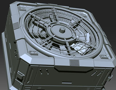 Hard Surface in Zbrush