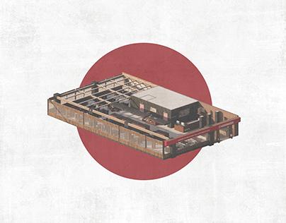 HANAMASA * JAPANESE RESTAURANT INTERIOR DESIGN