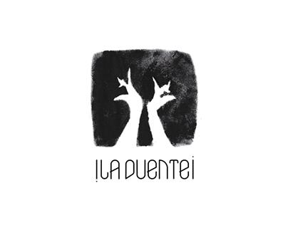 Logo Micro-label Vinyle : ! La Duente ¡