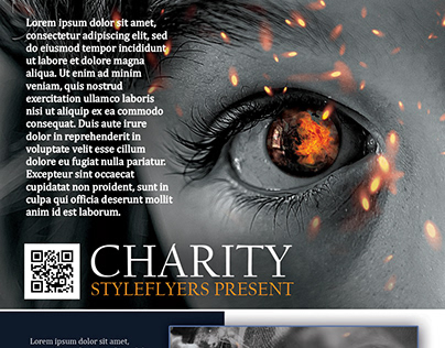 Charity FREE PSD Flyer Template