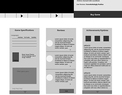 STEAM Wireframes
