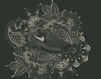 Nike Paisley