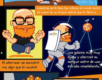 Astromedia Comic