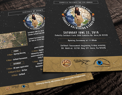 2019 Promotional Flyer: Cahuilla Band of Indians