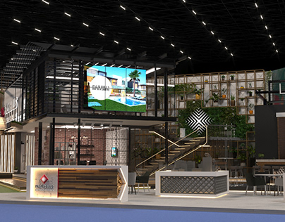 PALM HILLS Proposal #1 Exhibition Booth -City Edge 2020
