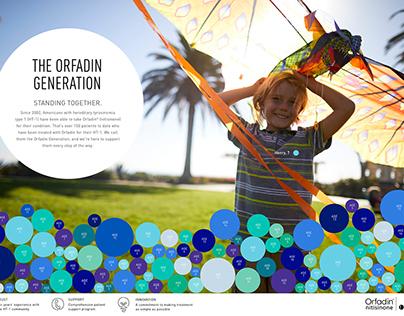 The Orfadin Generation Campaign