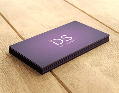 Business cards for the incredible @ids_beauty_studio