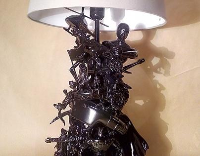 Black Toy Lamp