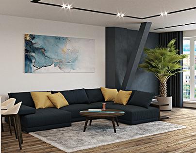 Design interior of apartment