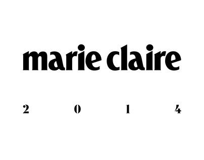 Art Direction & Design Marie Claire 2014