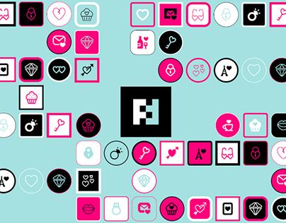 Futuramo Icons – Valentine's Day