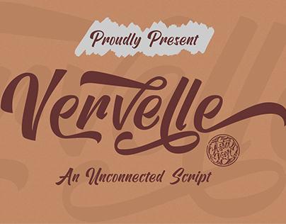 FREE FONT | Vervelle Script
