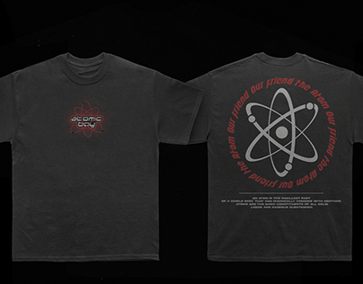T-shirt Atomic design.