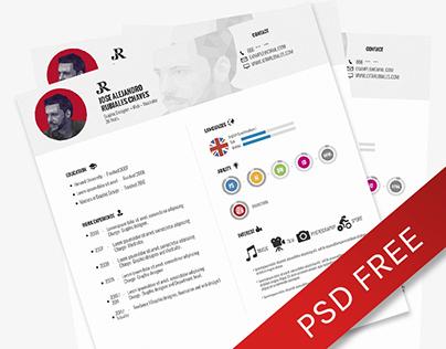 [CV] Curriculum #1 PSD Download FREE