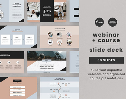 Webinar & Course Slide Deck