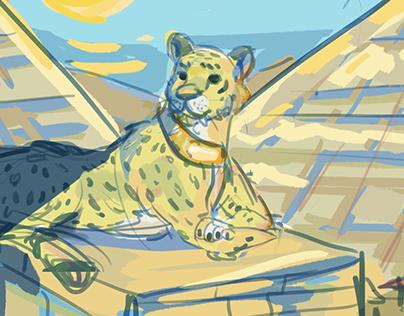 Animal + Backgrounds Color Palette Challenge