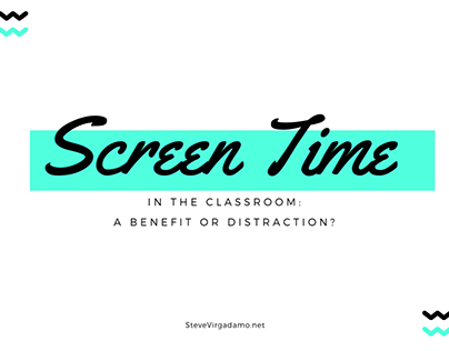 Screen Time in the Classroom: A Benefit or Distraction?