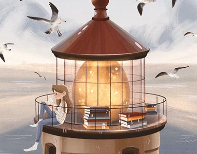 Dream Journey - illustration series