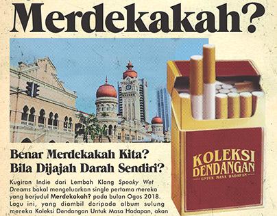 'Merdekakah?' Promotional Poster