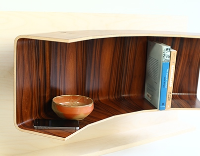 Wall Shelf | Exploring Coopered Laminations