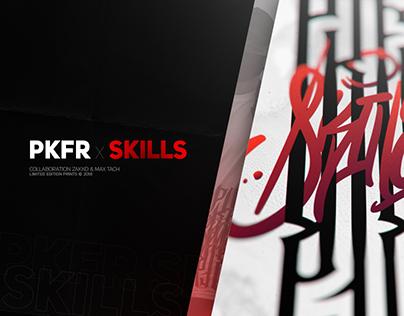 PKFR x SKILLS WEAR | Print