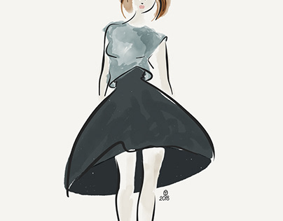 Fashion Illustration - Practice