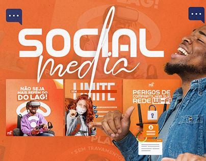 Social Media | Provedor de Internet