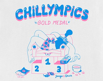 CHILLYMPICS - TSHIRT COLLAB X GENIE ESPINOSA