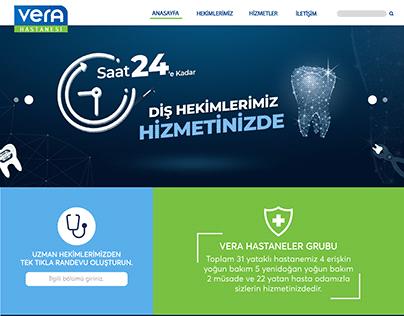REYHAN PİR - Hastane Web Anasayfa Arayüz Tasarımı