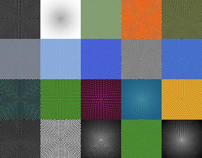 50+ Halftone Circular Dot Patterns