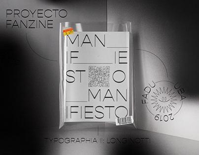 Fanzine tipografico - Typographia II: Longinotti 2019