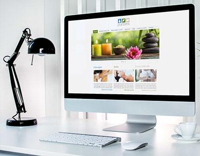 Website Pursens - Webdesign
